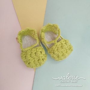 Sepatu Rajut Soft Green